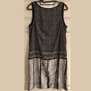 Michael Kors Black Jewel Print Dress Size Medium